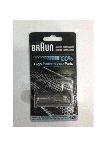 Braun Braun 428 Traş Makınası Elek+Plastık Kafa Renkli